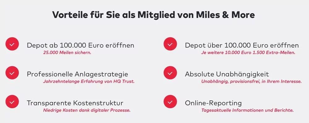 Das sind die Vorteile als Mitglied von Lufthansa Miles & More. Foto: Liqid