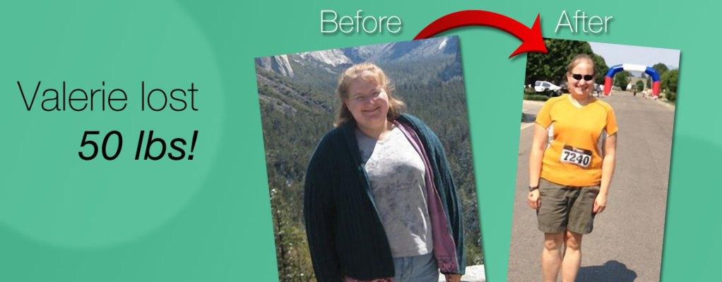valerie weight loss slide