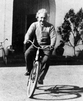 Albert Einstein regularly did exercise, which helps improve one's brain health!