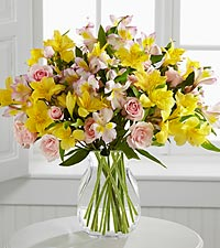 The FTD® Breathtaking Beauty™ Bouquet by Better Homes and Gardens® - VASE INCLUDED
