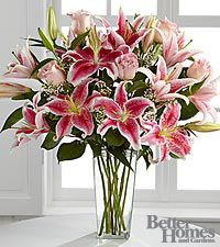 The FTD® Simple Perfection™ Bouquet by Better Homes and Gardens® - VASE INCLUDED