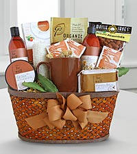 Amber Soothing Spa and Gourmet Basket