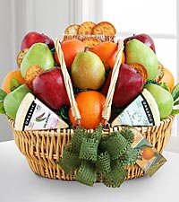 Organic Fruit Festival Basket