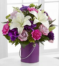 The FTD® Color Your Day With Beauty™ Bouquet - VASE INCLUDED