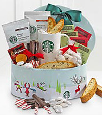 Starbucks® Skater Holiday Sampler Gift Box