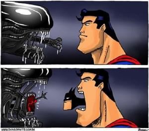 Alien-Vs-Superman