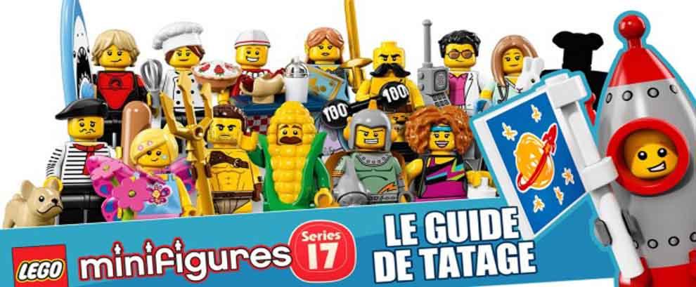 Le guide ultime de tâtage pour LEGO minifigures series 17