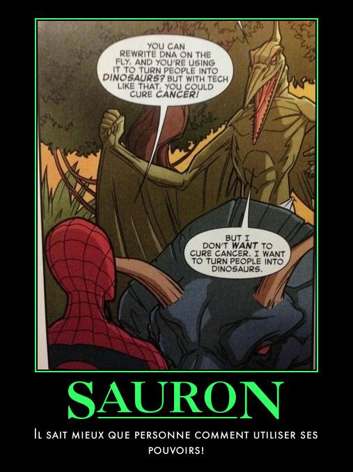 Spider man-Sauron-cancer