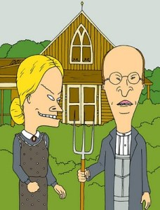 beavis-and-butthead-in-american-gothic1