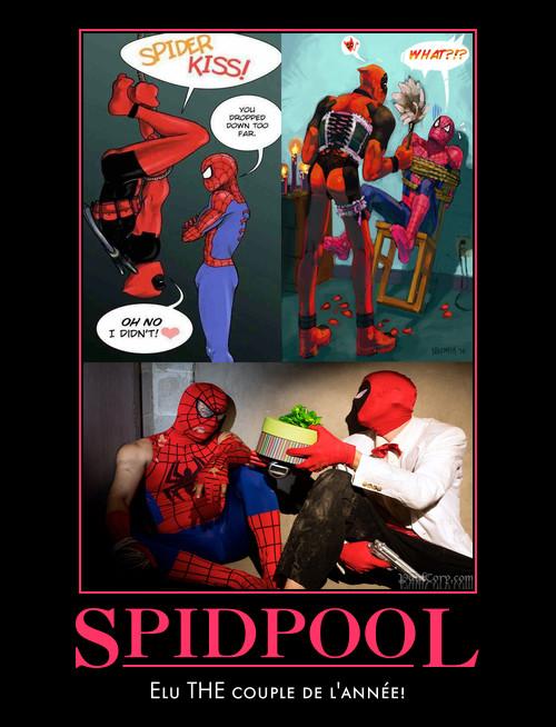 deadpool_spider-man_love