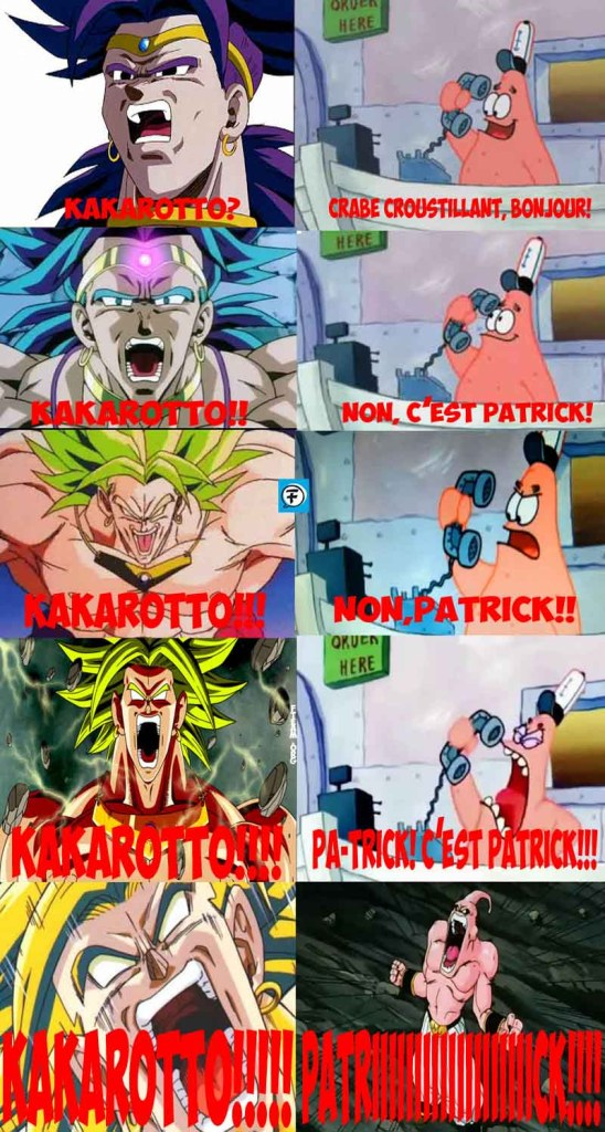 dragon ball_broly_bob square pants_patrick_kakarroto_2
