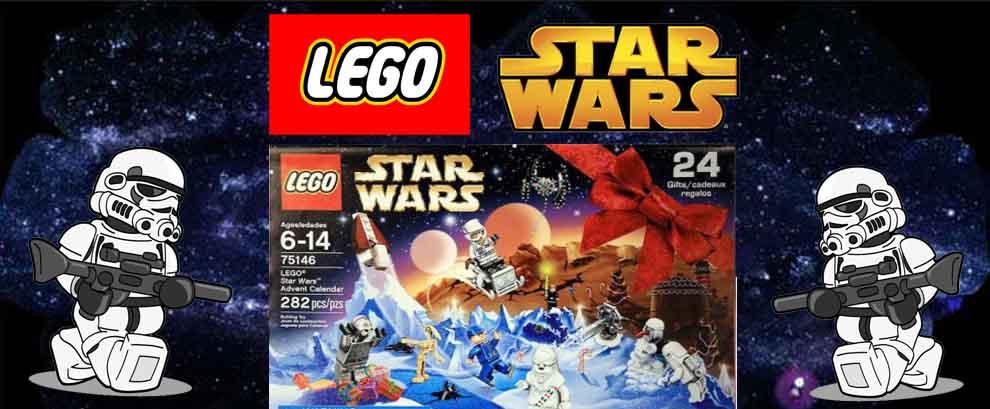 Calendrier de l'Avent Lego Star Wars 2016- Jour 1