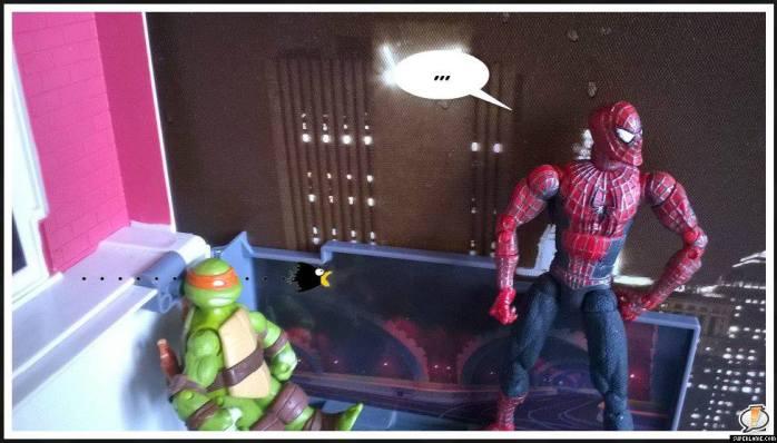 tortues spiderman cityhunter