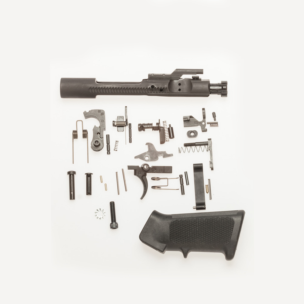 hight resolution of m16 complete lower receiver replacement parts set kit plus bcg
