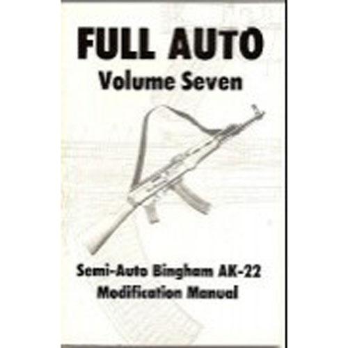 Cobray M11 /9 Semi To Full Auto Conversion Manual