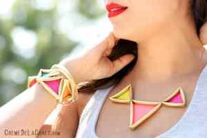 Κοσμήματα από καλαμάκια