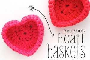 crochet-heart-baskets