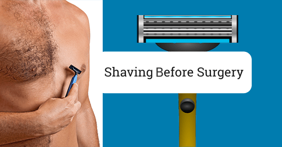 Shave Chest Before Surgery