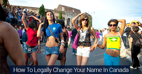How To Legally Change Your Name In Canada