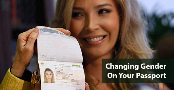 Changing Gender On Your Passport