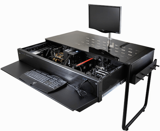 The Desktop PC Case thats also a Desk