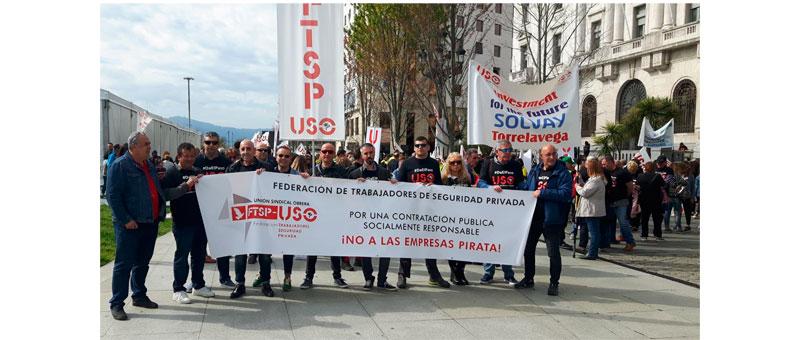 La presión realizada al Cabildo de Gran Canaria por los impagos a los trabajadores de la PIRATA SVS provoca una reunión de urgencia una hora antes de la concentración prevista de los responsables del Cabildo con responsables de la FTSP-USO Canarias.