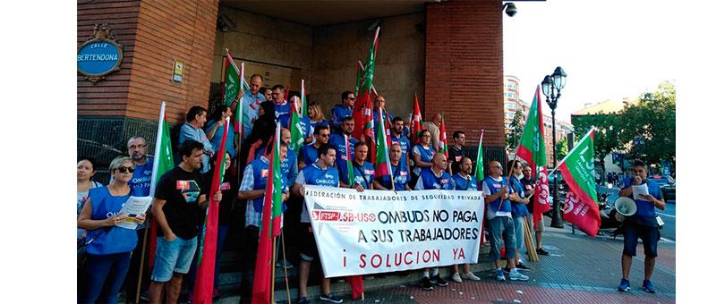 Los 3 Sindicatos mayoritarios del sector protestamos contra la decisión de retirar vigilantes de 15 cárceles