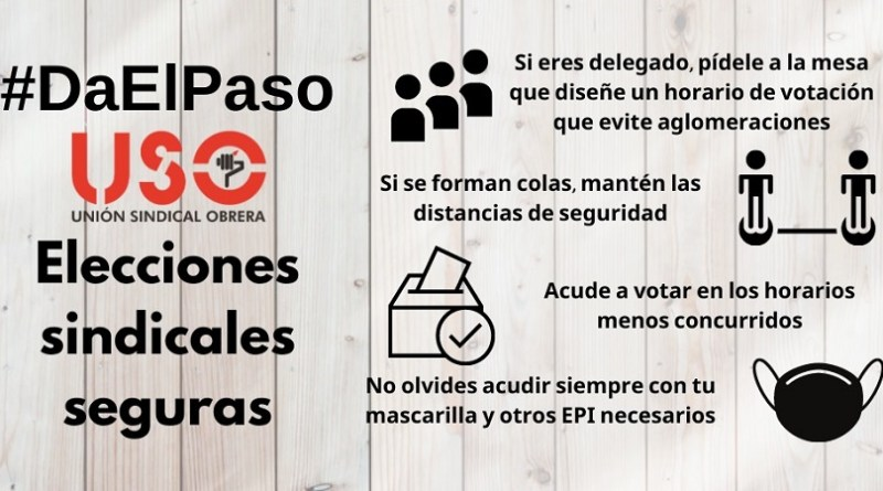 Elecciones Sindicales 2020. 3 de 3