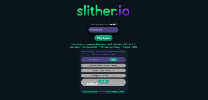 Download Slitherio Hack Mods Zoom Hack More