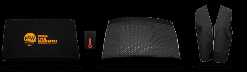 Belt, Battery, Detachable & Waistcoat