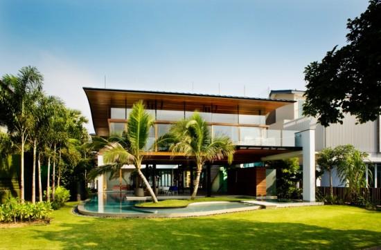 Maison Moderne Design Interesting Villa Un Tage Avec