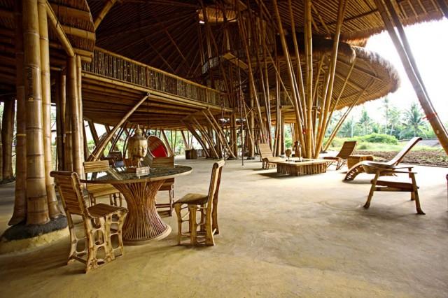 Bali Bamboo Buildings Et Al On Pinterest Bali Bamboo