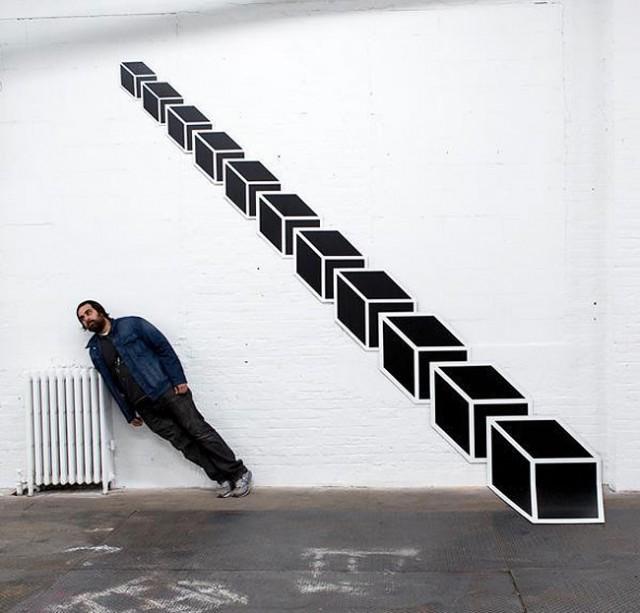 3D Street Art 2 640x613 Arte Urbana em 3D