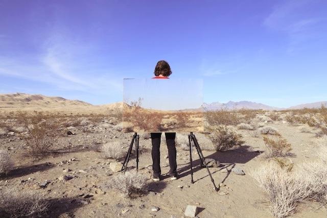 desert landscape by richard