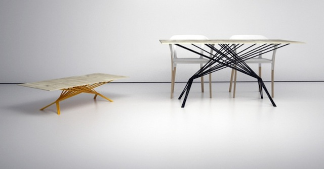 Table by Antonio Serrano