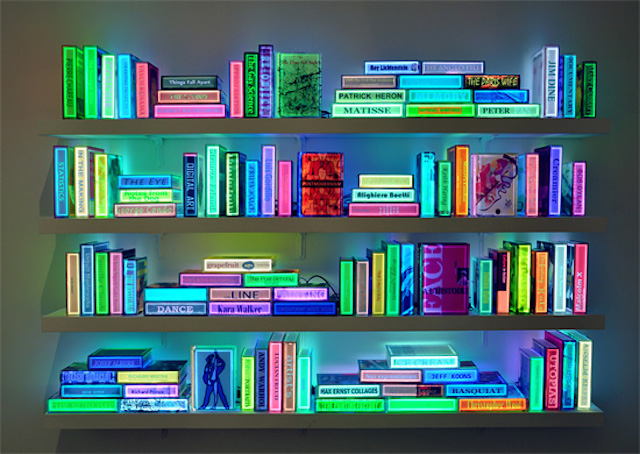 Neon Books by Airan Kang