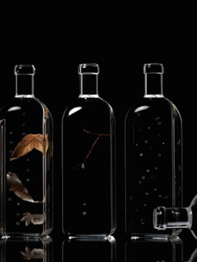 Rain Bottles by Nendo