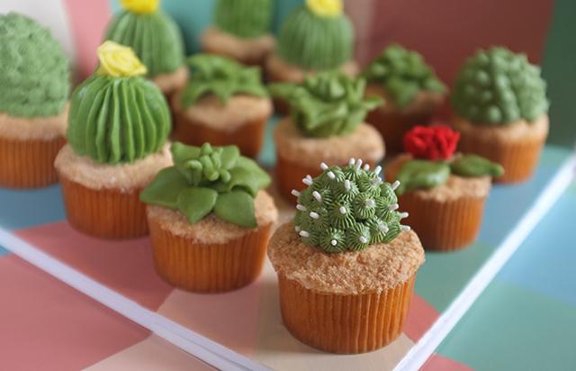 Cactus Cupcakes By Alana Jones-Mann