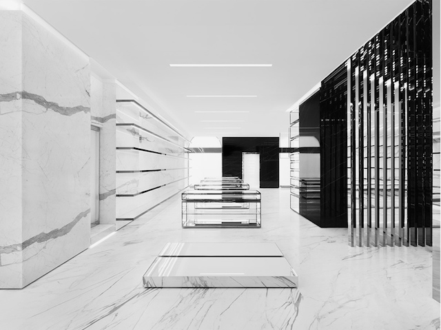 Saint Laurent Store By Hedi Slimane