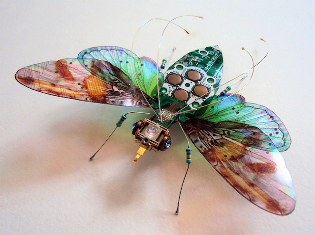 Waaaat Nintendo Insects Made Of Circuit Boards