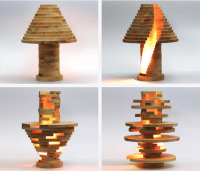 DIY Wooden Light That Lets You Build the Lamp of Your ...