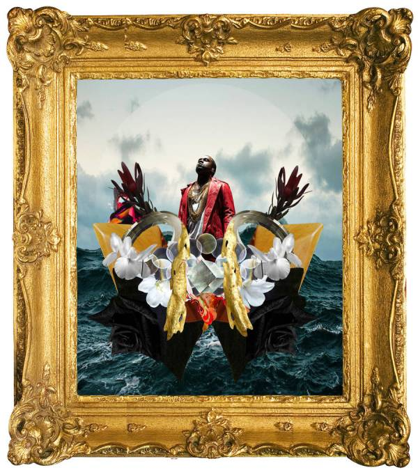 Quirky Digital Collages Of Contemporary Hip Hop Artists