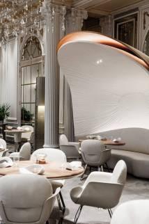 Plaza Ath Restaurant In Paris Fubiz Media