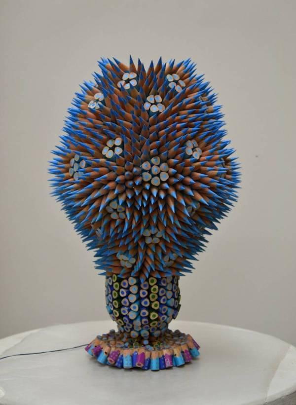 Organic Pencils Sculptures Fubiz Media