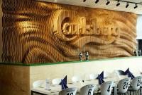 Laser-Cut Wooden Wall Sculpture for Carlsberg  Fubiz Media