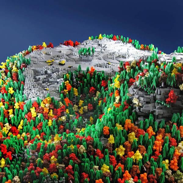 LEGO Mountain Top Removal