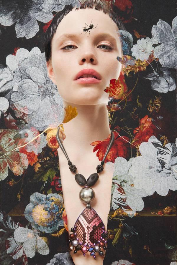 Stunning And Poetic Fashion Collages Fubiz Media