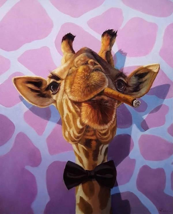 Whimsical Animals Of Lucia Heffernan Fubiz Media