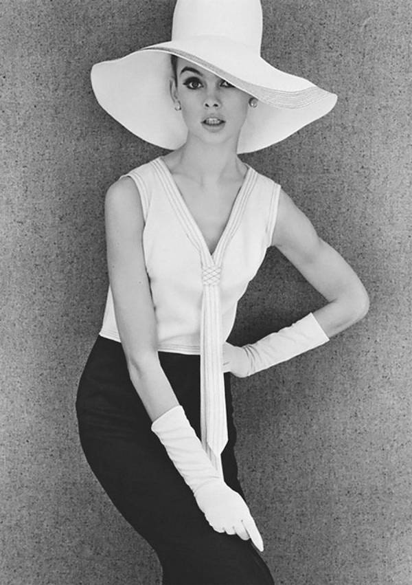 Black And White Fashion Photography in the 60s by John