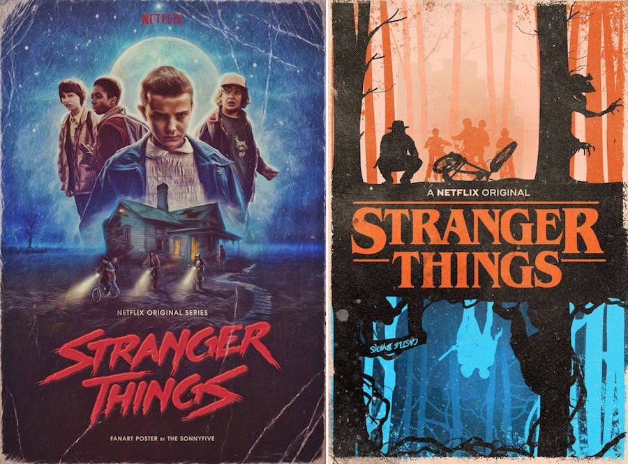 Awesome Cute Binder Wallpapers That Are Printable Superb Fan Art Posters Of Stranger Things Fubiz Media